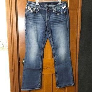 NWT Vigoss Bootcut Bling Jeans